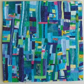 """A quilt by recently featured artist, <a href=""""http://localsantacruz.com/art/ann-baldwin-may-featured-artist/"""">Ann Baldwin May.</a>"""