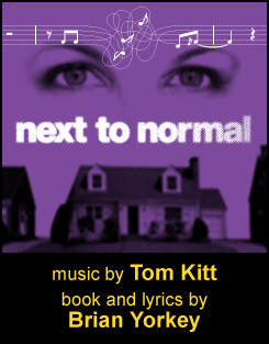 Next to Normal, at the Tannery Arts Center's Colligan Theater.