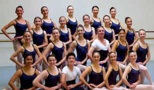 SCBT Senior Company dancers, 2016-2017 season.