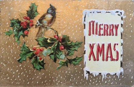 5 Christmas Greetings from the 1910s