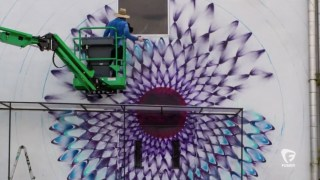Video: Timelapse Spray Paint Mural