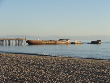 History of the Seacliff Beach Cement Ship