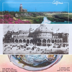 Four Snapshots of Santa Cruz, January 1901-1988