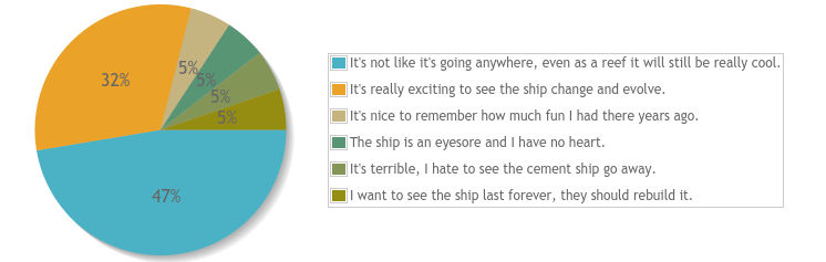 cement ship survey results