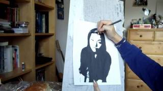 Video: How to do Basic Stencil Art