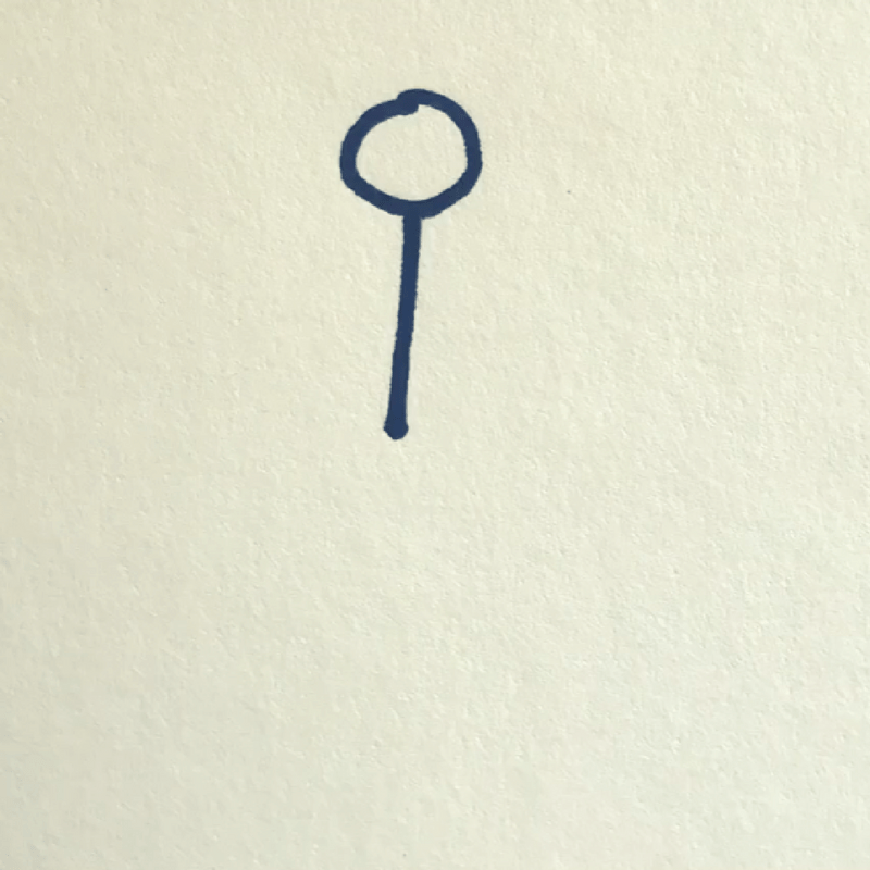 How to Draw a Stick Figure - Step 2