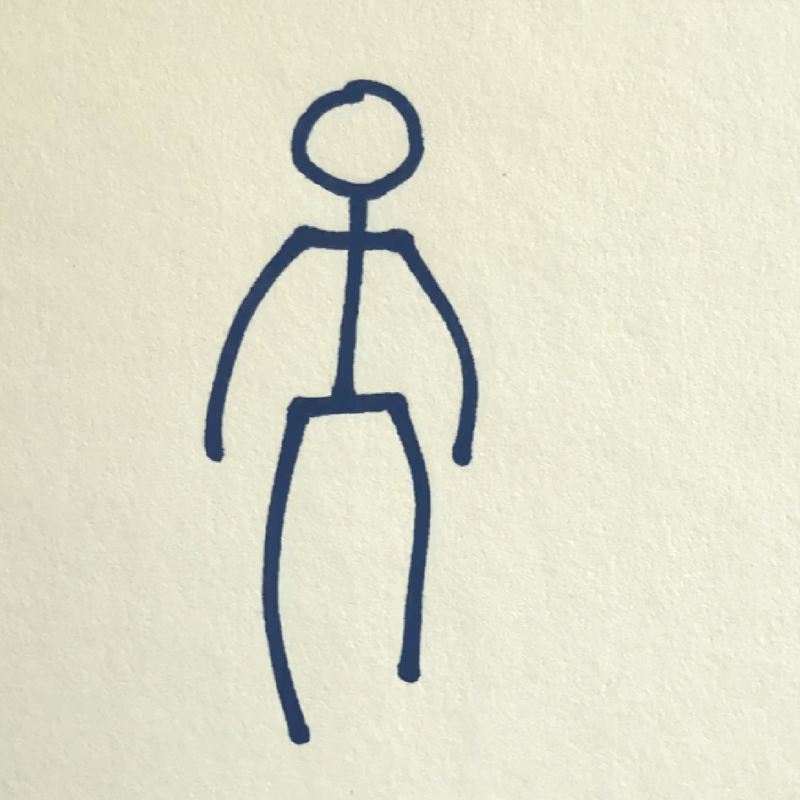 How to Draw a Stick Figure - Step 5