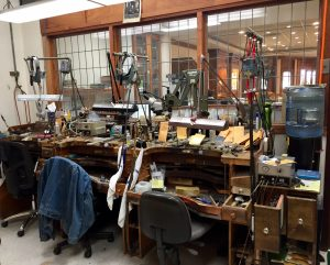 Mark Areais Jewelers Aptos workshop