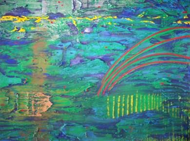"Ernest Amos-Jackson - ""Parallel Convergence on Aquatic Surface"""