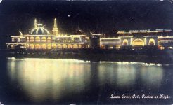 Santa Cruz Casino at Night