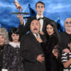 The Addams Family: Deborah McArthur (Grandma), GabrielleFilloux (Wednesday), Adam Saucedo (Gomez) Danielle Crook (Morticia), John G. Bridges (Uncle Fester), Michael Navarro (Pugsley) & far back David Murphy (Lurch)