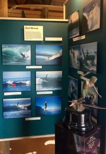 The museum exhibits all forms of Santa Cruz surf culture.
