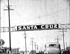 Trips to Santa Cruz, 1937 and 1938