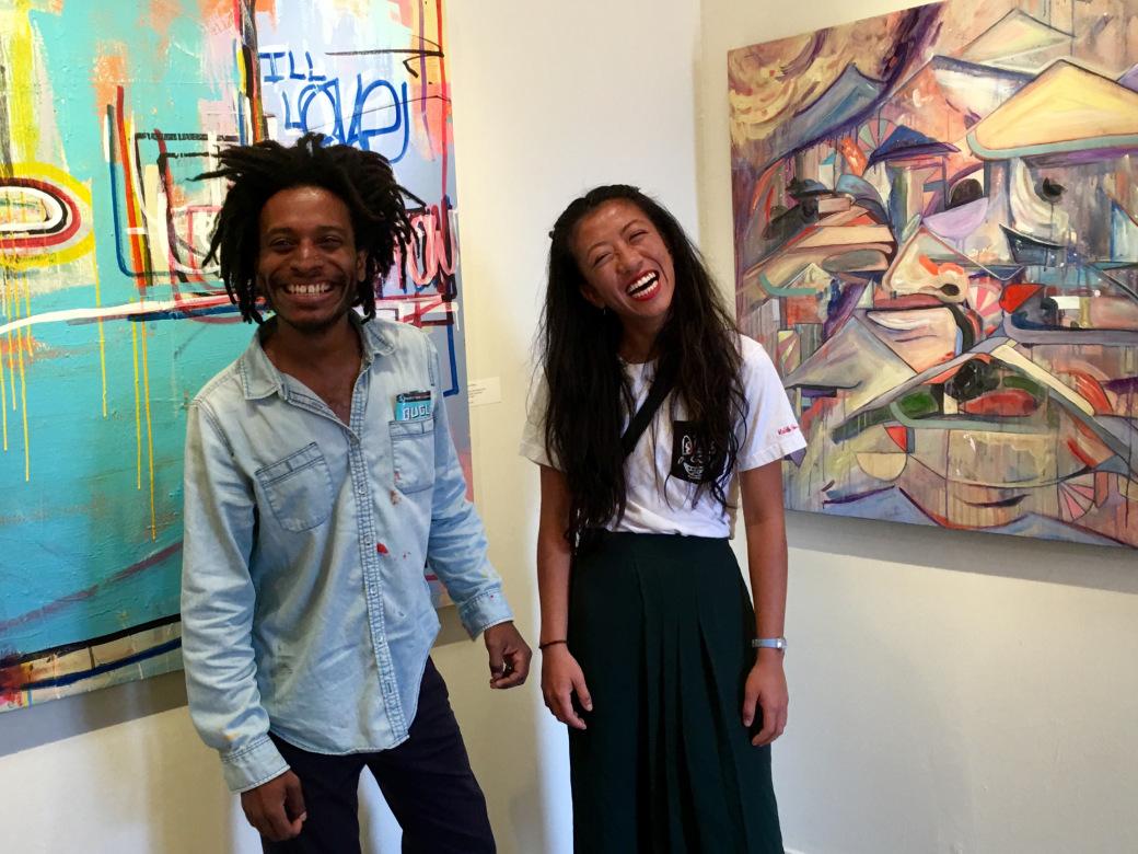 Artists Joel Clifton and Nicole Shek