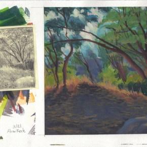 Ian Wing - Sunset at Natural Bridges