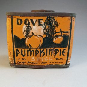 Liz Crain - Dove Pumpkin Pie Spice Tin