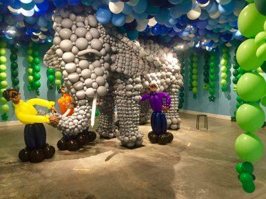 Ballooniverse: Balloon Art by Addi Somekh at the MAH