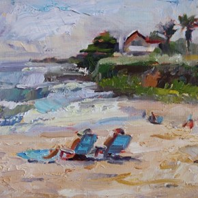 Bill Kennann - Enjoying the Beach at 20th Ave