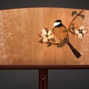 Matthew Werner - Bird on Apple Branch