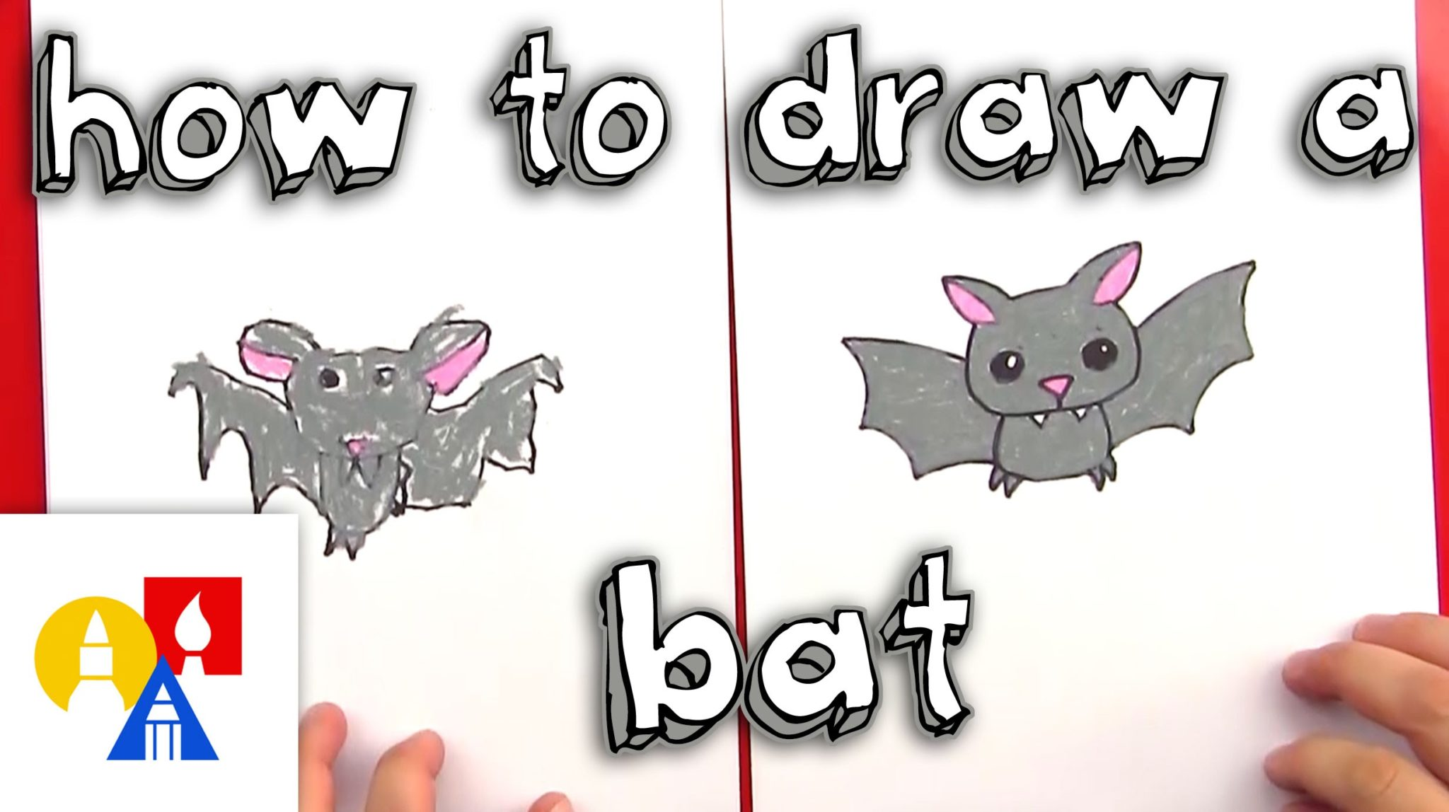 Video How To Draw A Bat Local Santa Cruz