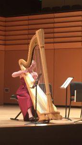 Madeline Jarzembak at the Samper Recital Hall.