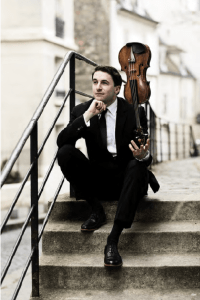 Noah Bendix-Balgley, first Concertmaster of the Berlin Philharmonic