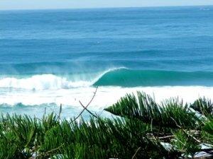 surfing waves point cartwright australia