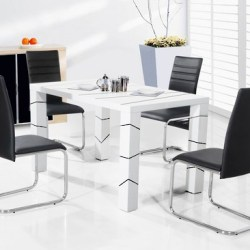 1.5 Metre Dining Table & 6 Chairs Set