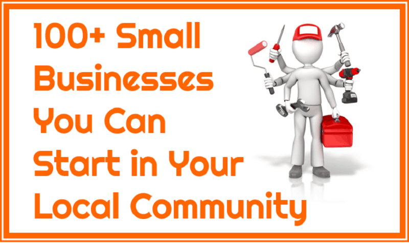 local businesses you can start