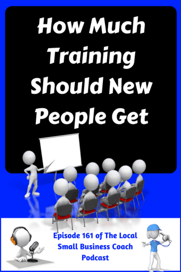 How Much Training Should New People Get