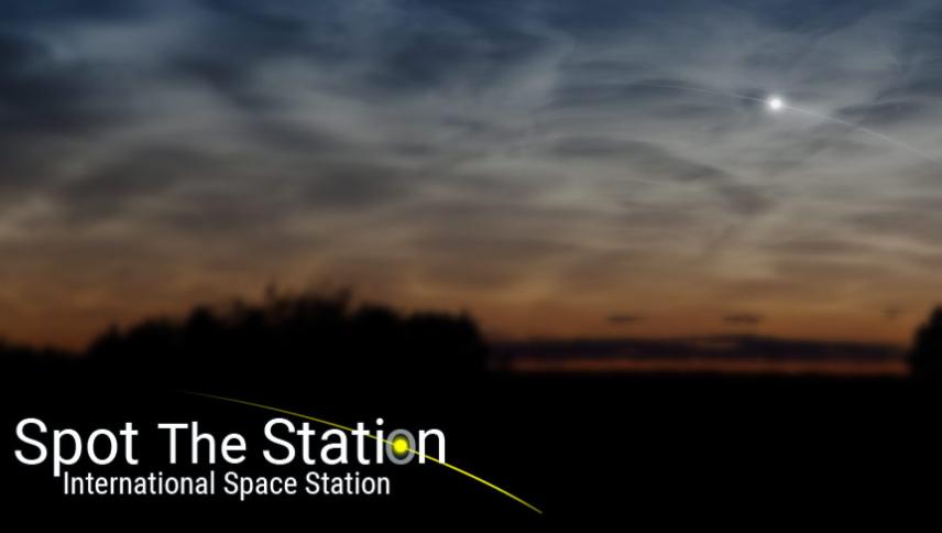 Garrett's Blog: International Space Station Visible ...