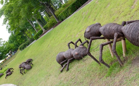 Sculpture on the Green