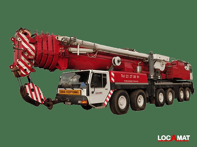 Grue mobile Liebherr LTM1300 300tonnes Lomé Togo Ouest Afrique