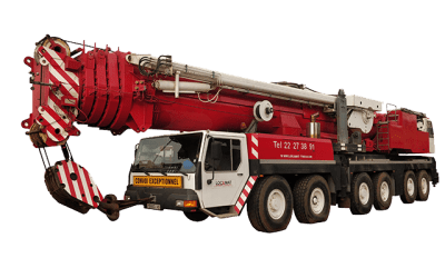 Grue Mobile LTM 1300-1 – 300 T