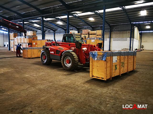 Chariot élévateur Manitou MT 1637 3.7 tonnes Téléscopique Lomé Togo Ouest Afrique