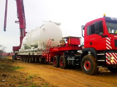 Mise en place d'une station à gaz au Bénin