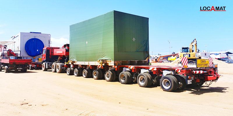 remorque-de-transport-exceptionnel-à-Lomé-port-Togo--Ouest-Afrique