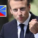 """Macron : """"Je pense que nous pouvons éradiquer la grande pollution à l'île de La Réunion"""""""