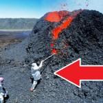 Éruption: La police recherche activement les deux malfrats qui ont allumé le volcan