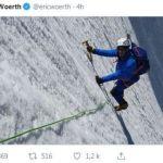 """Après son ascension """"menteur"""" du Mont-Blanc, Eric Woerth va tenter d'escalader le Piton des Neiges"""