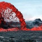 """""""Volcan la pété!"""" : C'est la 5eme éruption non-désirée de l'année pour le Volcan de la Fournaise"""