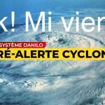 """""""Ok! mi vien!"""": Face à l'insistance des médias locaux, le cyclone Danilo décide finalement de venir à La Réunion"""