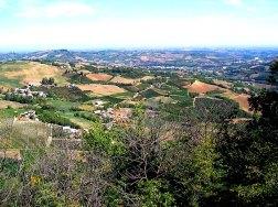 Vista panoramica dalla Rocca