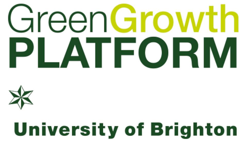 University of Brighton Green Growth Platform logo