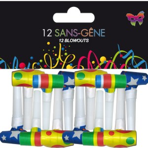 SACHET DE 12 SANS GENE 4 CM - NORMES EN71 2013