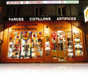 Magasin Clown de la République, Boutique : Clown de la République 11 Boulevard Saint-Martin, 75003 Paris