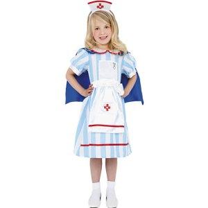 Costume enfant infirmière vintage