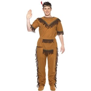 Costume homme indien brave