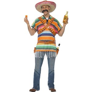Costume homme mexicain shooter Tequila