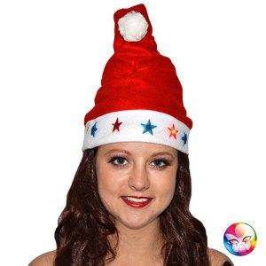 Bonnet de Noël motifs lumineux